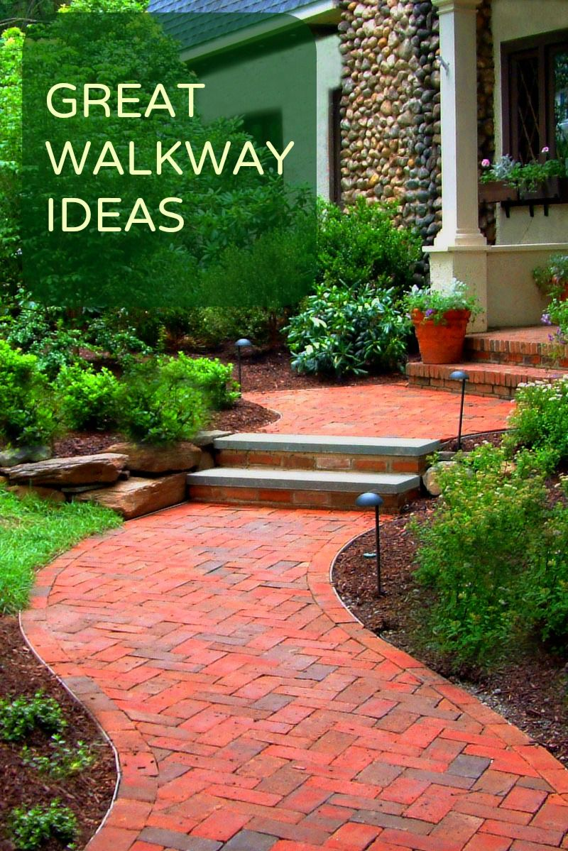 Creative walkway designs and ideas decoraci n para for Jardineria al aire libre casa pendiente