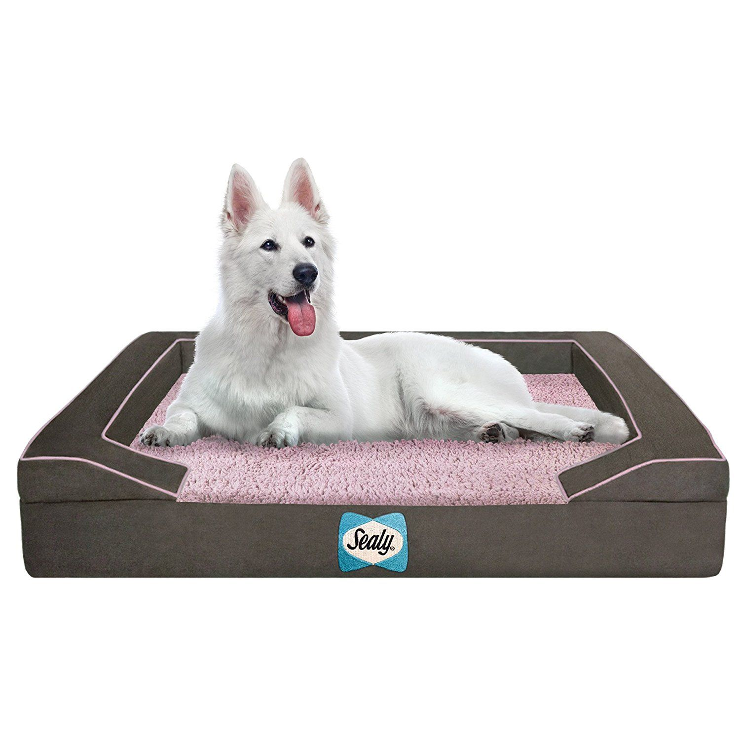Sealy Lux Sherpa Dog Bed Read more reviews of the