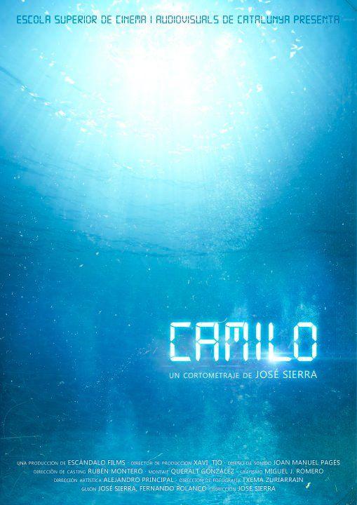 """#FILM #CORTOMETRAJE #SCIFI - CAMILO by José Sierra. """"CAMILO"""" es un cortometraje en 35mm que surge como proyecto de final de carrera de la Escola Superior de Cinema i Audiovisuals de Catalunya. Que nos permitirá demostrar que estamos preparados para incorpóranos al mundo profesional.   +INFO: http://on.fb.me/vk_camilo  CAMPAÑA: www.verkami.com/projects/747"""
