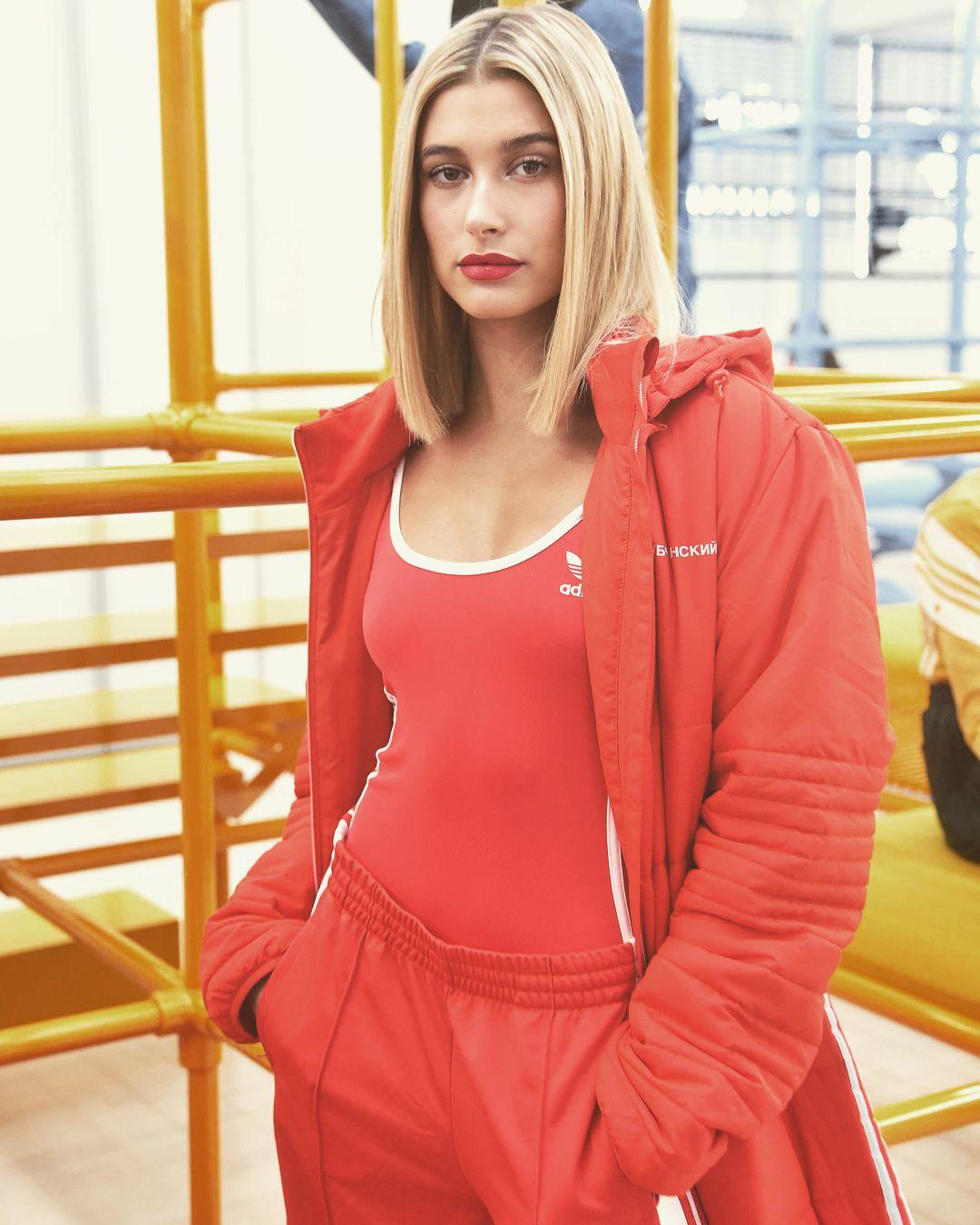 8 febbraio: hailey all'adidas originali da danielle cathari evento
