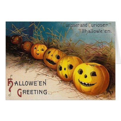 Halloween pumpkins vintage add message card halloween halloween pumpkins vintage add message card halloween happyhalloween festival party m4hsunfo