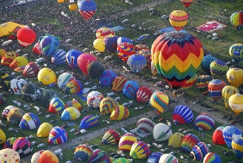 The Balloon Fiesta coming soon to Albuquerque! October 6-14, 2012. People come from all over the world to fly their balloons at the event. A great time for all ages that shouldn't be missed! AIBF11-41.JPG