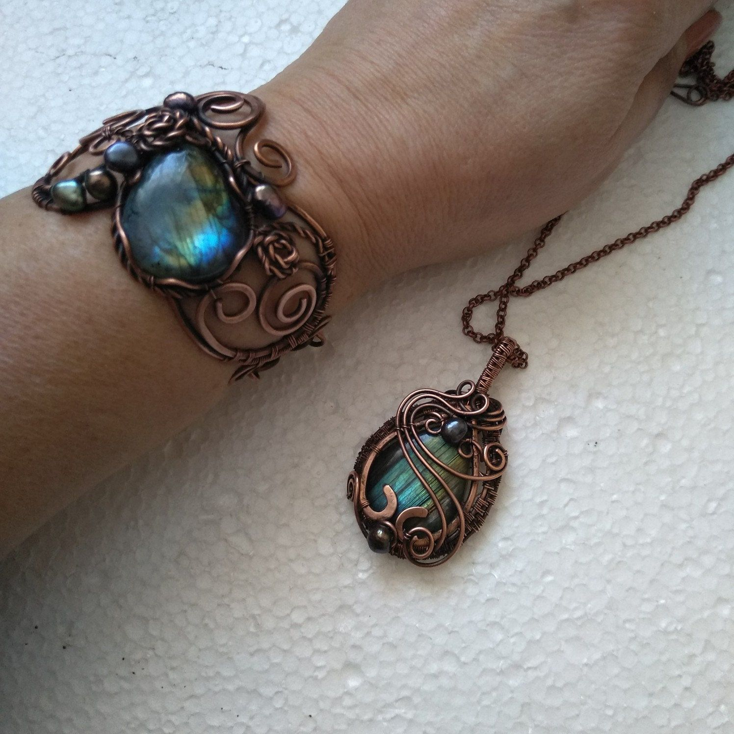Photo of NatalkaArtCopper shared a new photo on Etsy