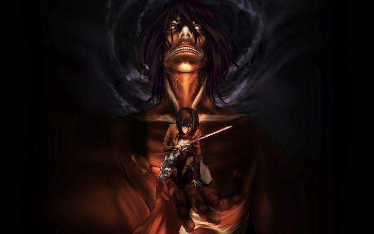 Rogue Titan Mikasa Ackerman Attack On Shingeki No Kyojin Hd Wallpaper