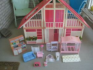 Barbie 1970 S A Frame Dream House Mansion Dollhouse