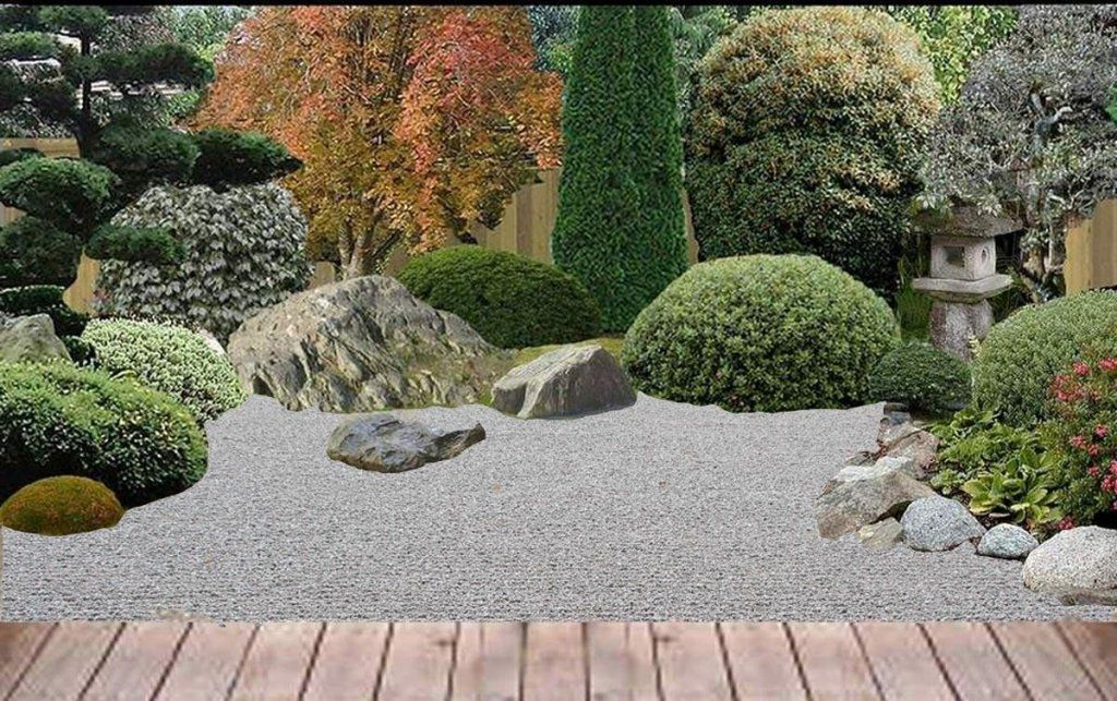 small japanese gardens | small garden for a small back yard in the ...
