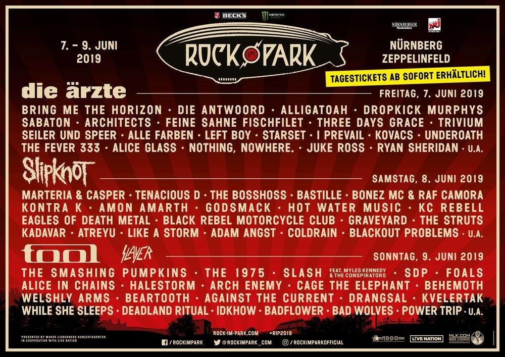 Rock Im Park 2019 Beatsteaks Clueso Rock Am Ring