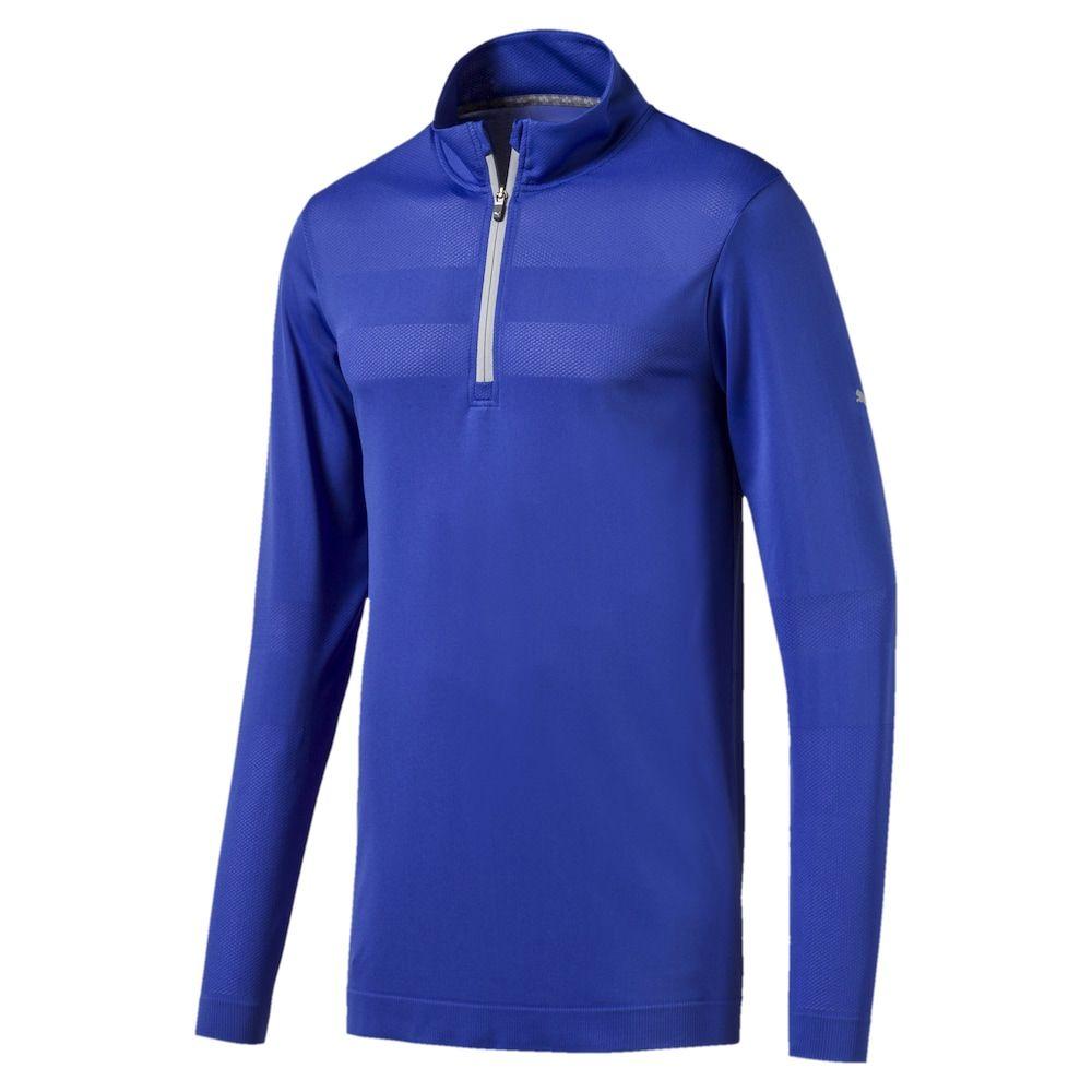 PUMA Sweatshirt 'EvoKnit' Herren, Blau, Größe S (2020
