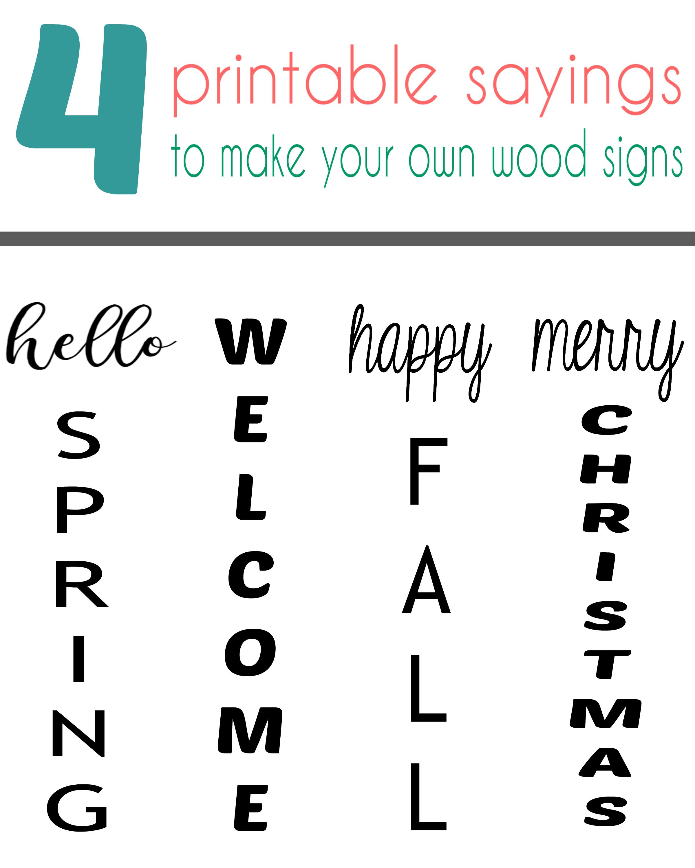 Pin On Diy Wood Signs