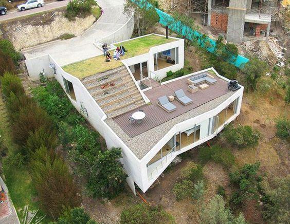 Nice 134LH Pole Real Estate House Plan Build Slope Land | EBay