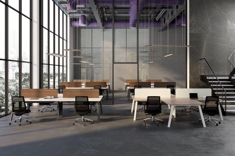 WORKSTATION STONE | Mobili per ufficio, Spazio ufficio ...