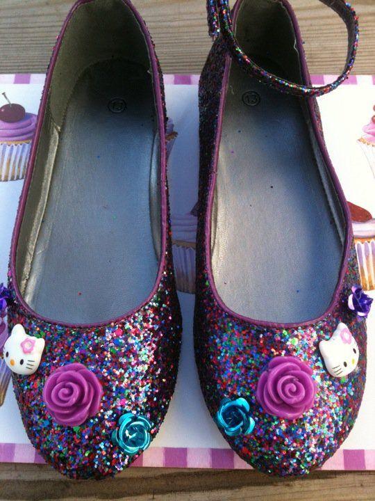 Hello Kitty Glitter Shoes Wwwmy Sweet Boutiquecom Aspiration