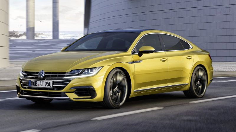 The Vw Arteon Is The Cc Sedan S Really Good Looking Successor