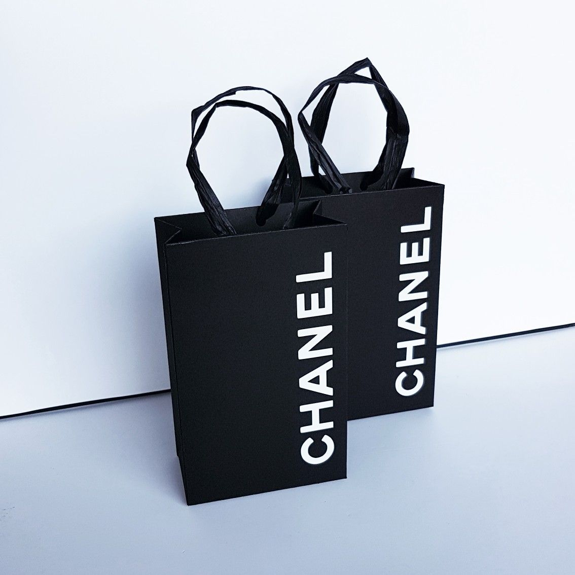 d0f3cb765200 Chanel Favor Bags. Party Decorations | Chanel 16 theme | Chanel ...