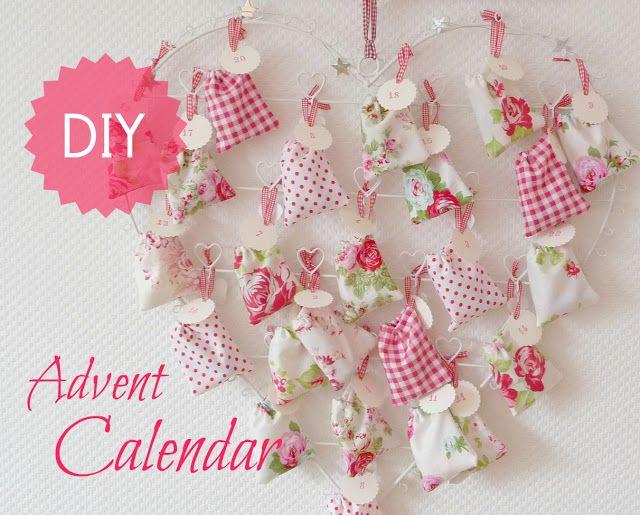 Duni\u0027s Studio Make an Advent Calendar - Adventskalender DIY