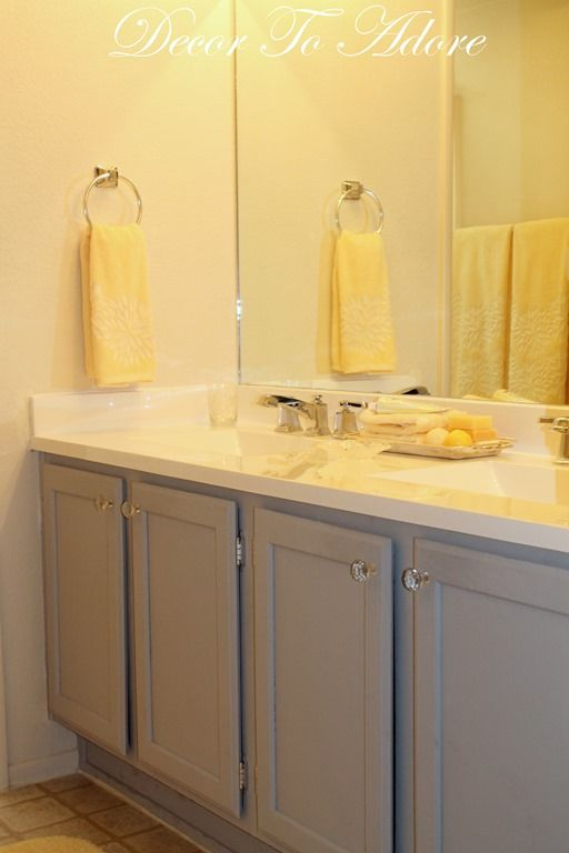 An Bathroom Remodeled For Less Master Bath Cabinets And Faucets