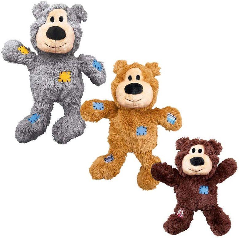 KONG Wild Knots Bears Dog Toy, Medium/Large (Color Varies)