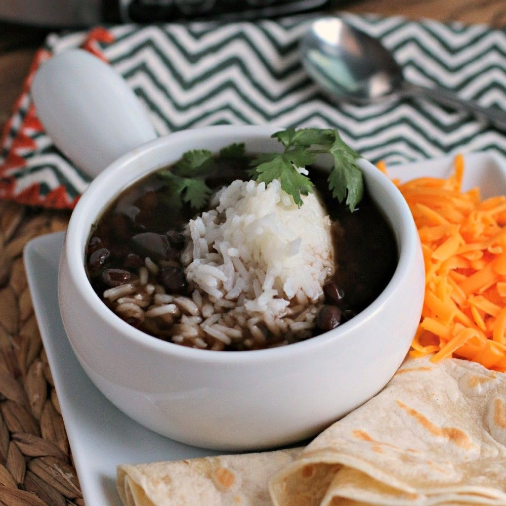 Slow Cooker Black Bean Soup - The Magical Slow CookerThe Magical Slow Cooker