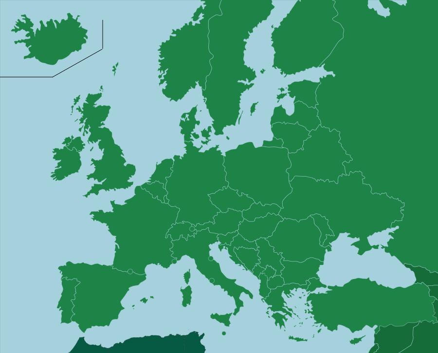 Europa Pases Seterra es una plataforma de juegos de geografa