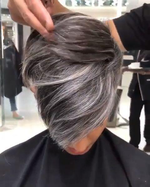 Amazon.fr: teinture cheveux gris perle