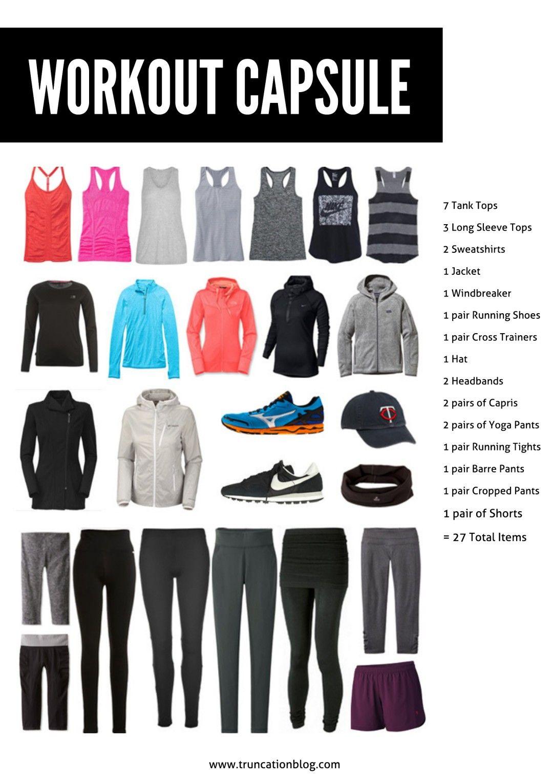 Fall 2015 Workout Capsule Wardrobe