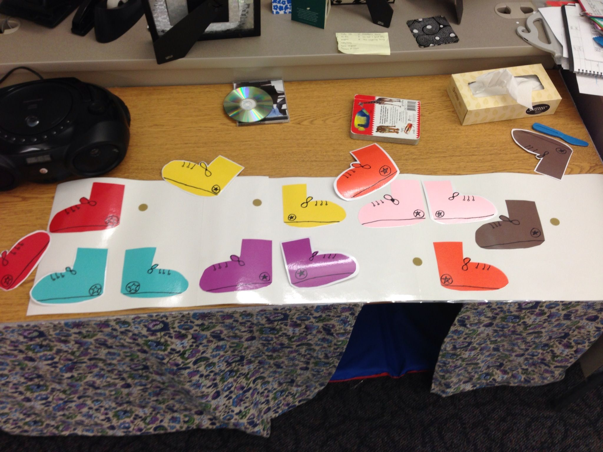 Color games for pre k - Pete The Cat Color Matching Shoes Prek Autism