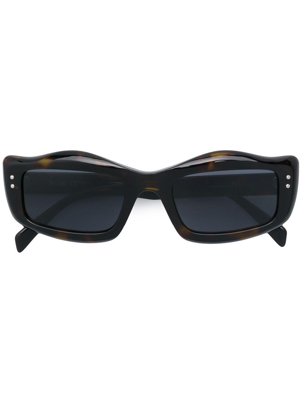 Moschino Eyewear ergonomic square sunglasses – Brown