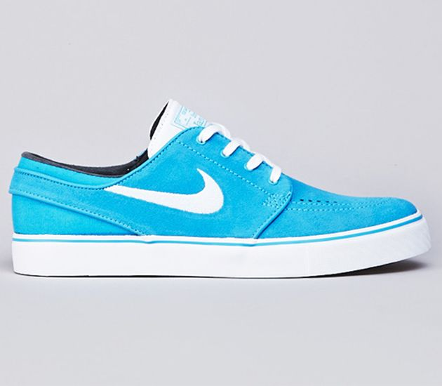 Nike SB Stefan Janoski Low - Vivid Blue / White | Nike shoes ...