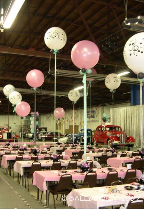 Balloonacy roseville balloons sadie hawkins pinterest for 1950s party decoration