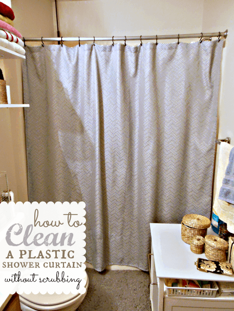 How To Clean A Plastic Shower Curtain Plastic Shower Curtain