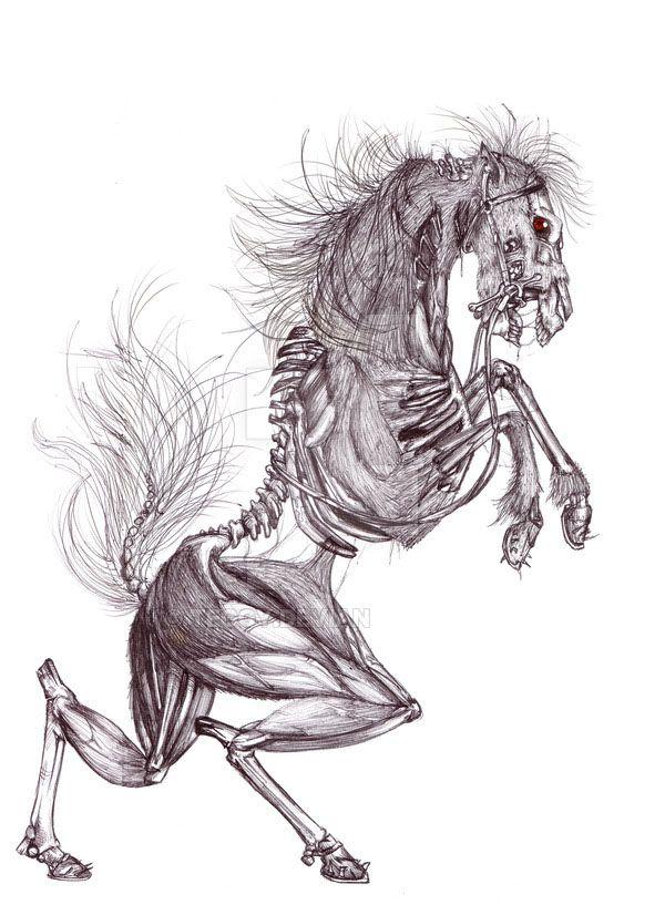 2017/09/26 Zombie Unicorn | Mityczne stworzenia, Artyści ...