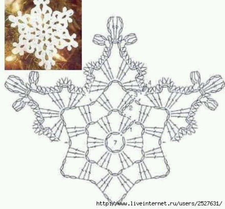 snowflakes | Christmas DIY | Pinterest | Schneeflocken, Häkeln und ...