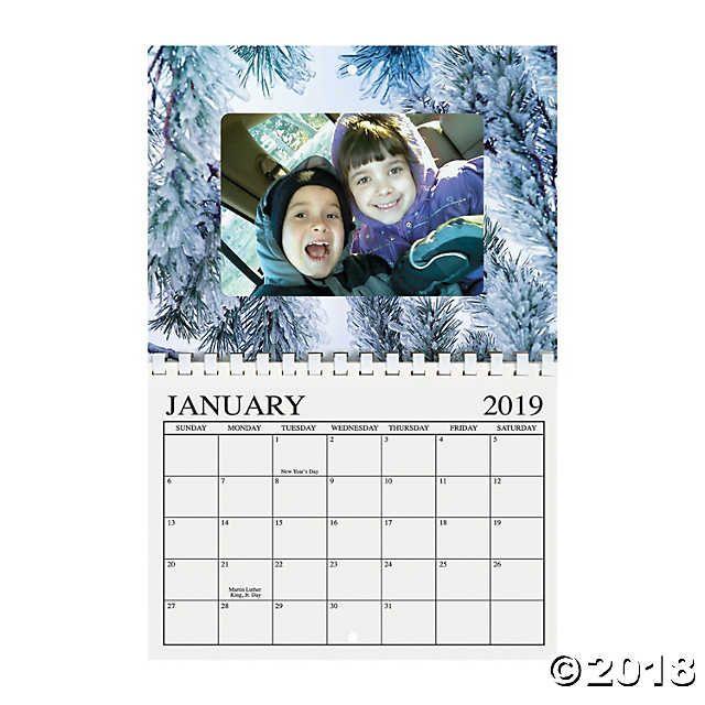 2019 Photo Frame Calendar in 2018 Kdg Christmas Pinterest Photos