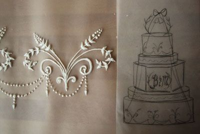 wedding cake piping templates pin by rodriguez on cakes royal icing 23471