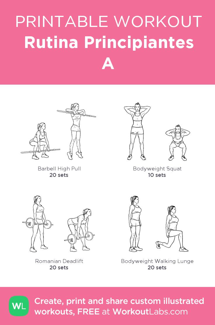 rutina principiantes a my visual workout created at workoutlabs com