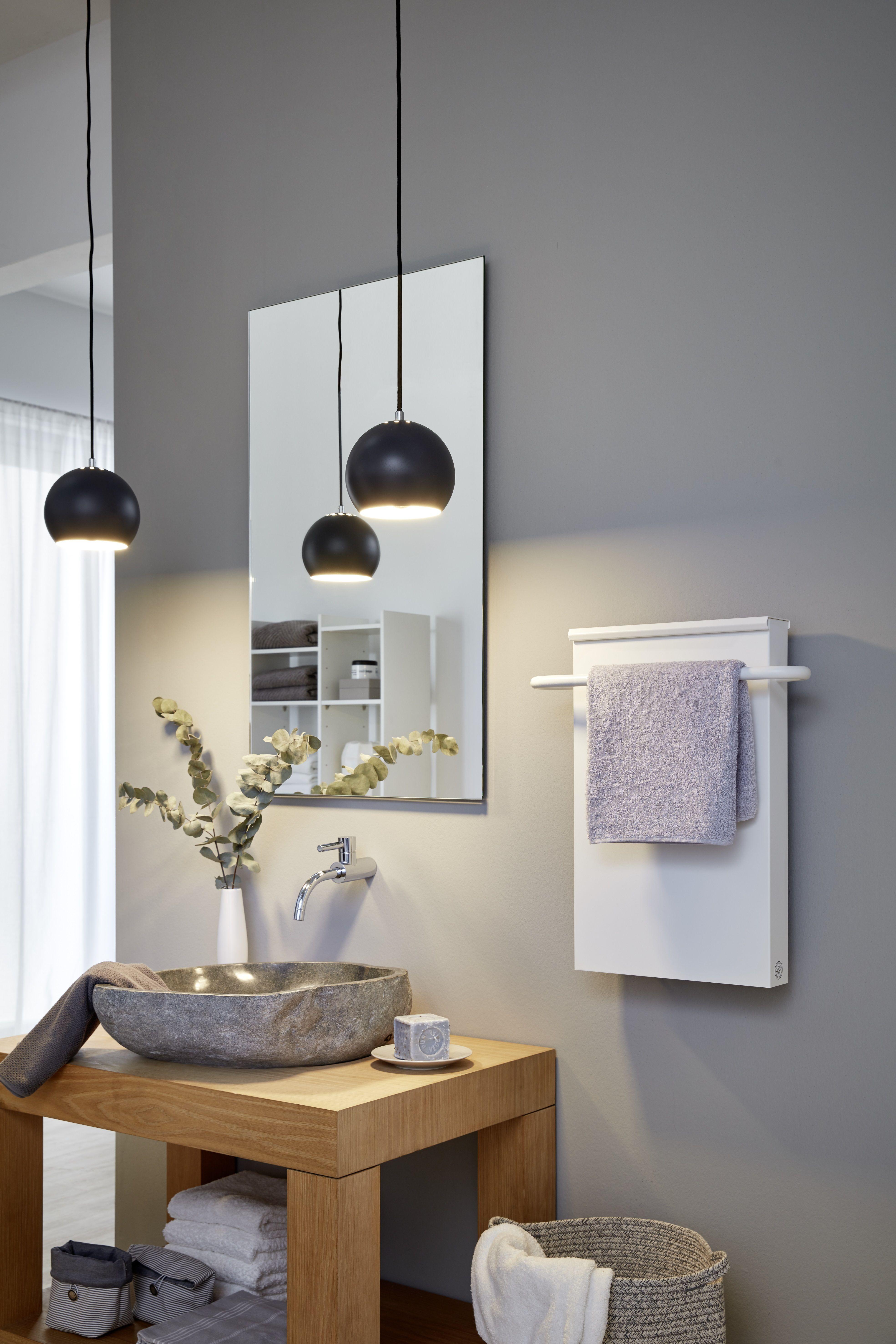 Moderne Heizlösungen für dein Badezimmer. Mit Handtuchhalter