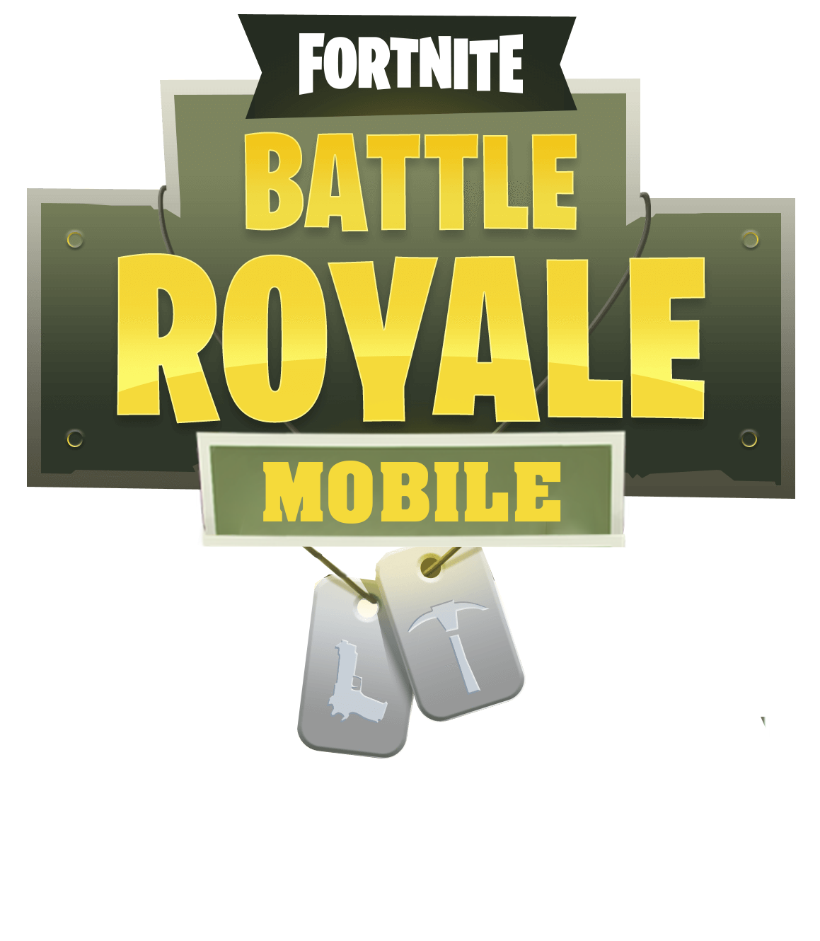 Fortnite Mobile Logo Png Image Mobile Logo Logo Tutorial Logo Templates Psd