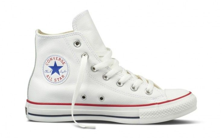 converse all star blancas leather