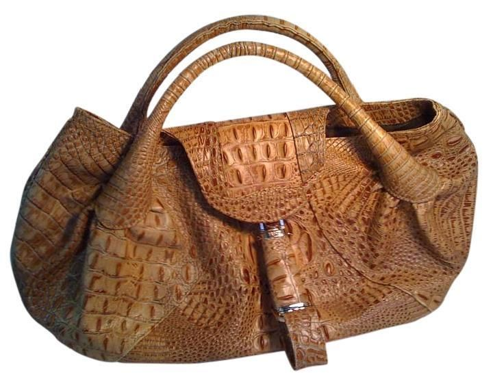 f838d0d08457 FENDI Rare Ltd. Edition Alligator Runway Large Spy Hobo Bag Authentic Orig   20K