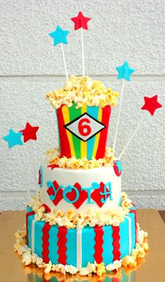 Inspiration for a Carnival cake and cupcakes Novelty Cakes Dubai