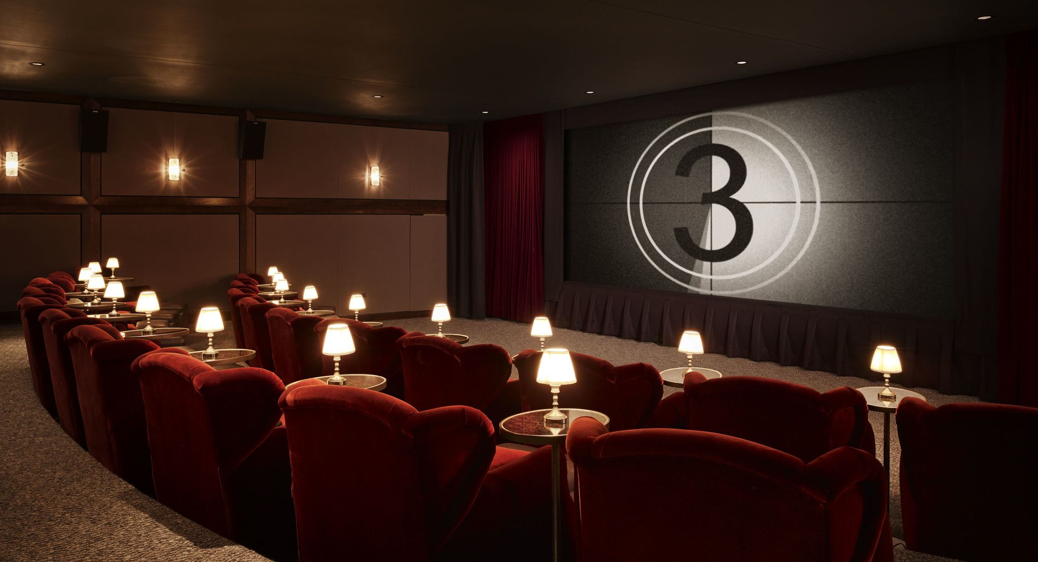 Soho House Chicago Il Screening Room