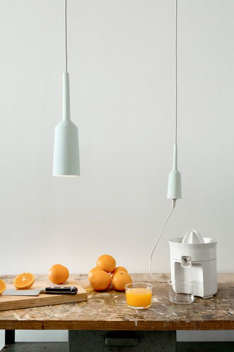 Wonderbaar Energy from above: Lamp&Socket by Lotte Douwes pairs a porcelain LM-82