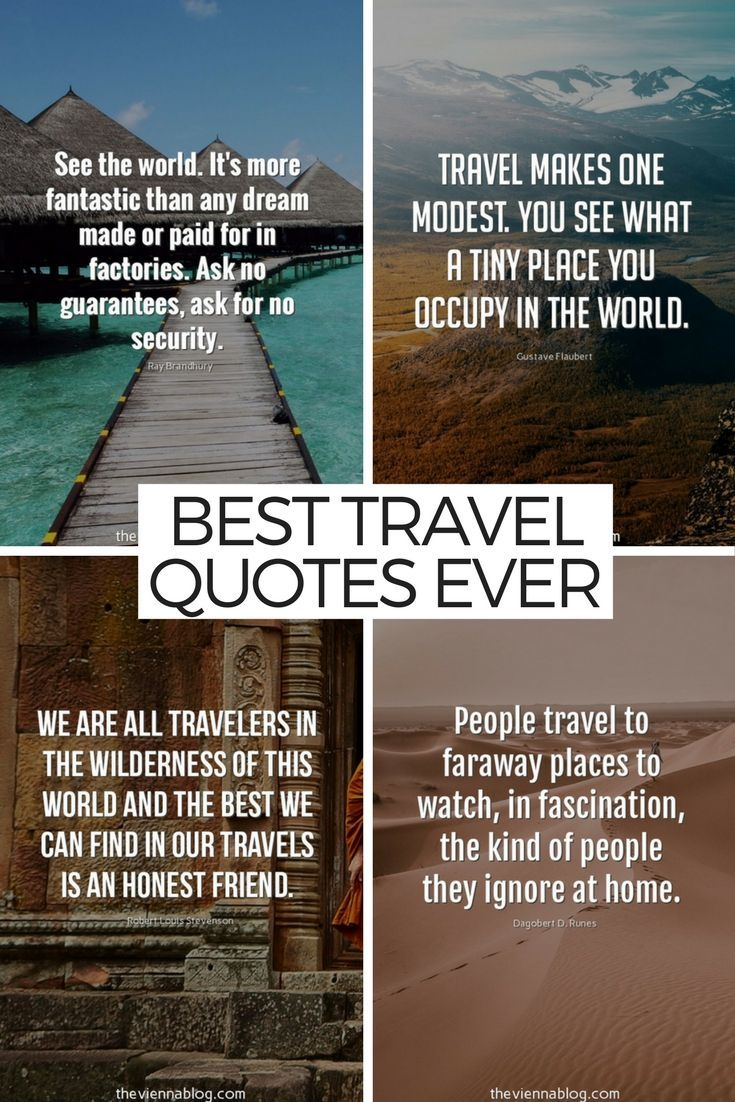 50 Best Travel Inspirations for the Modern Traveller ...
