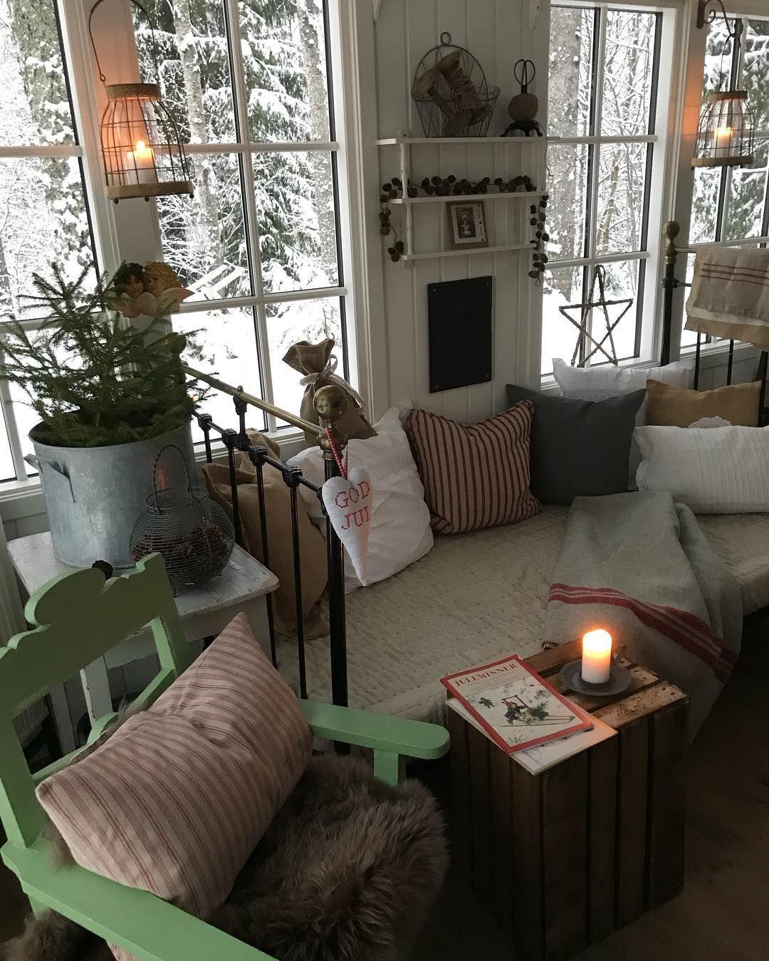 Så koselig med snø til jul...♥️Julestemning både inne i og ... on Bade Outdoor Living id=35773