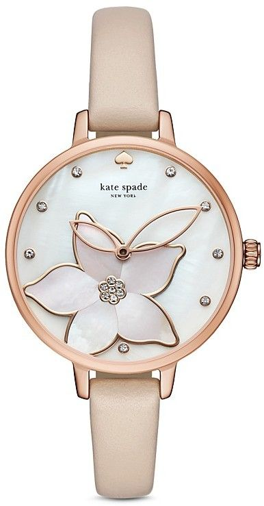 0ff3c9ec9 beautiful nude beige Kate Spade watch