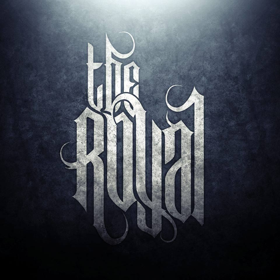 The Royal Metalcore Stage Banner Band Logos Distortion Beauty Art