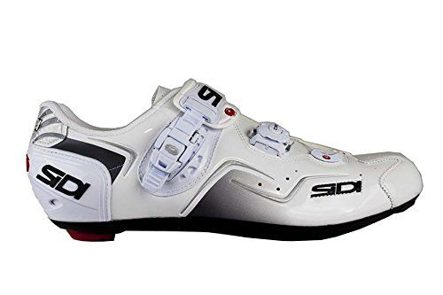 Sidi Kaos Road Shoes White White Men S Euro 44 Us 10 The Sidi Kaos Road Shoe Is The Sidi Wire S Little Brother Ma Womens Athletic Shoes Cycling Shoes Shoes