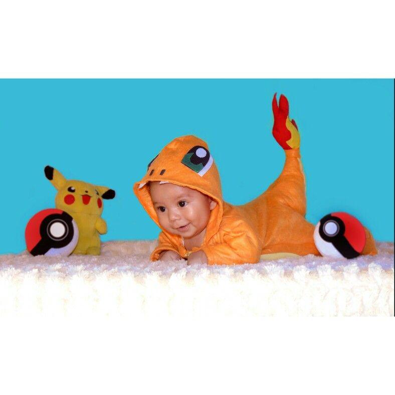 bebe #costume #disfraz #pokemon #charmander   MaeBBaby   Pinterest ...