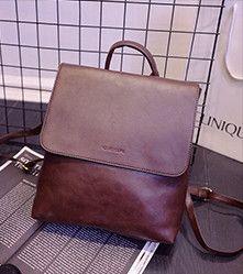 2016 Vintage backpack school style British small backpack, fashion school bag travel tide,women bag