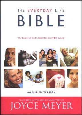Joyce Meyers Everyday Life Bible Hardcover Amplified Version